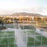 Campo del tenis imagen de archivo