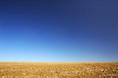Campo del terreno Immagini Stock