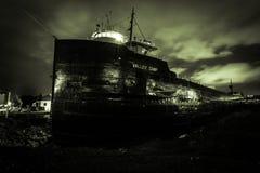 Campo del valle de la nave del museo Imagenes de archivo