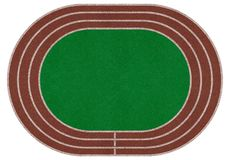 Campo dello stadio, arena fotografia stock
