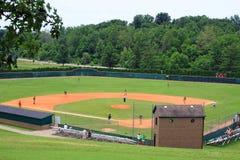 Campo di baseball Fotografie Stock Libere da Diritti