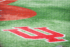 Campo di baseball ad Indiana University a Bloomington, Indiana Fotografia Stock Libera da Diritti