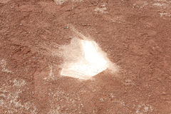Campo di baseball dell'argilla Fotografie Stock