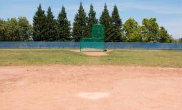 Campo di baseball della piccola lega Fotografie Stock