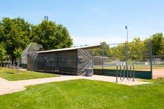Campo di baseball della piccola lega Immagini Stock Libere da Diritti