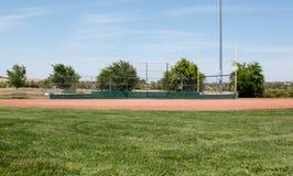 Campo di baseball della piccola lega Fotografia Stock