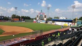 Campo di baseball Lexington KY U.S.A. fotografia stock libera da diritti