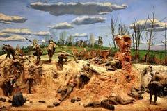 Campo di battaglia Immagini Stock