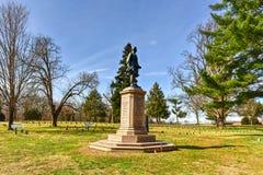 Campo di battaglia - Fredericksburg, la Virginia Fotografia Stock Libera da Diritti