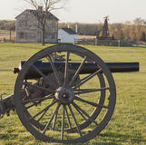 Campo di battaglia a Manassas, la Virginia di guerra civile Immagine Stock