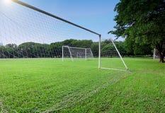 Campo di calcio Fotografia Stock Libera da Diritti