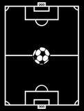 Campo di calcio illustrazione vettoriale