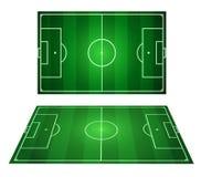 Campo di calcio Immagine Stock Libera da Diritti