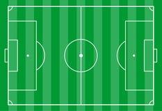 Campo di calcio da sopra royalty illustrazione gratis