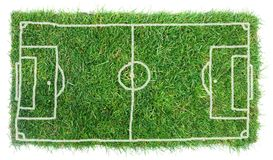 Campo di calcio di Doodle Fotografie Stock