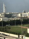 Campo di calcio nel Dubai Immagini Stock
