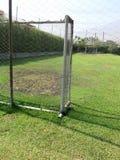 Campo di calcio vuoto Immagini Stock