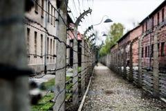 Campo di concentramento di Auschwitz immagine stock
