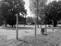 Campo di concentramento di Auschwitz fotografie stock