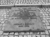 Campo di concentramento di Auschwitz fotografie stock libere da diritti