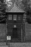 Campo di concentramento - Auschwitz-Birkenau, storia Immagini Stock Libere da Diritti