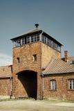 Campo di concentramento - Auschwitz-Birkenau, storia Fotografia Stock