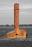 Campo di concentramento - Auschwitz-Birkenau, storia Immagine Stock Libera da Diritti