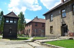 Campo di concentramento di Auschwitz Immagine Stock Libera da Diritti