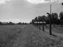Campo di concentramento di Auschwitz fotografia stock libera da diritti