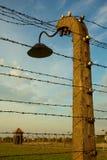 Campo di concentramento di Auschwitz-Birkenau Immagini Stock Libere da Diritti
