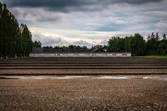 Campo di concentramento di Dachau Fotografie Stock