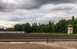 Campo di concentramento di Dachau Immagini Stock