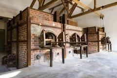 Campo di concentramento di Dachau in Germania Fotografia Stock Libera da Diritti