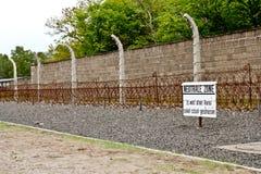 Campo di concentramento di Sachsenhausen immagine stock
