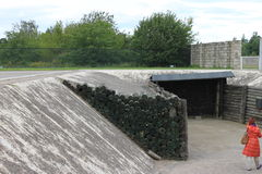 Campo di concentramento di Sachsenhausen - Berlino Immagini Stock