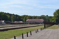 Campo di concentramento di Stutthof Fotografie Stock Libere da Diritti