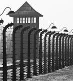 Campo di concentramento nazista di Birkenau - Polonia Immagini Stock Libere da Diritti
