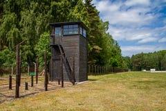 Campo di concentramento Polonia di Stutthof Fotografie Stock Libere da Diritti