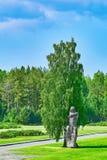 Campo di concentramento di Salaspils fotografia stock libera da diritti