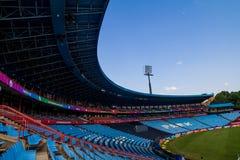 Campo di cricket del centurione Immagine Stock Libera da Diritti