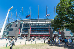 Campo di cricket di Melbourne Fotografie Stock
