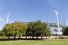 Campo di cricket di Melbourne - MCG fotografia stock