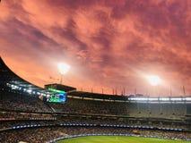 Campo di cricket di Melbourne fotografie stock libere da diritti