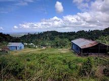 Campo di EL dell'en di vista di Hermosa immagini stock libere da diritti