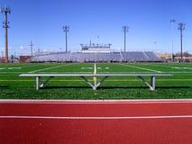 Campo di football americano 1 Fotografie Stock