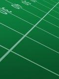 Campo di football americano.   Fotografie Stock Libere da Diritti