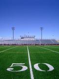 Campo di football americano 4 Immagini Stock Libere da Diritti