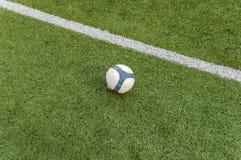Campo di football americano Fotografie Stock Libere da Diritti