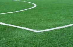 Campo di football americano con la marcatura. Immagine Stock Libera da Diritti