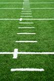 Campo di football americano del tappeto erboso di Astro Fotografia Stock Libera da Diritti